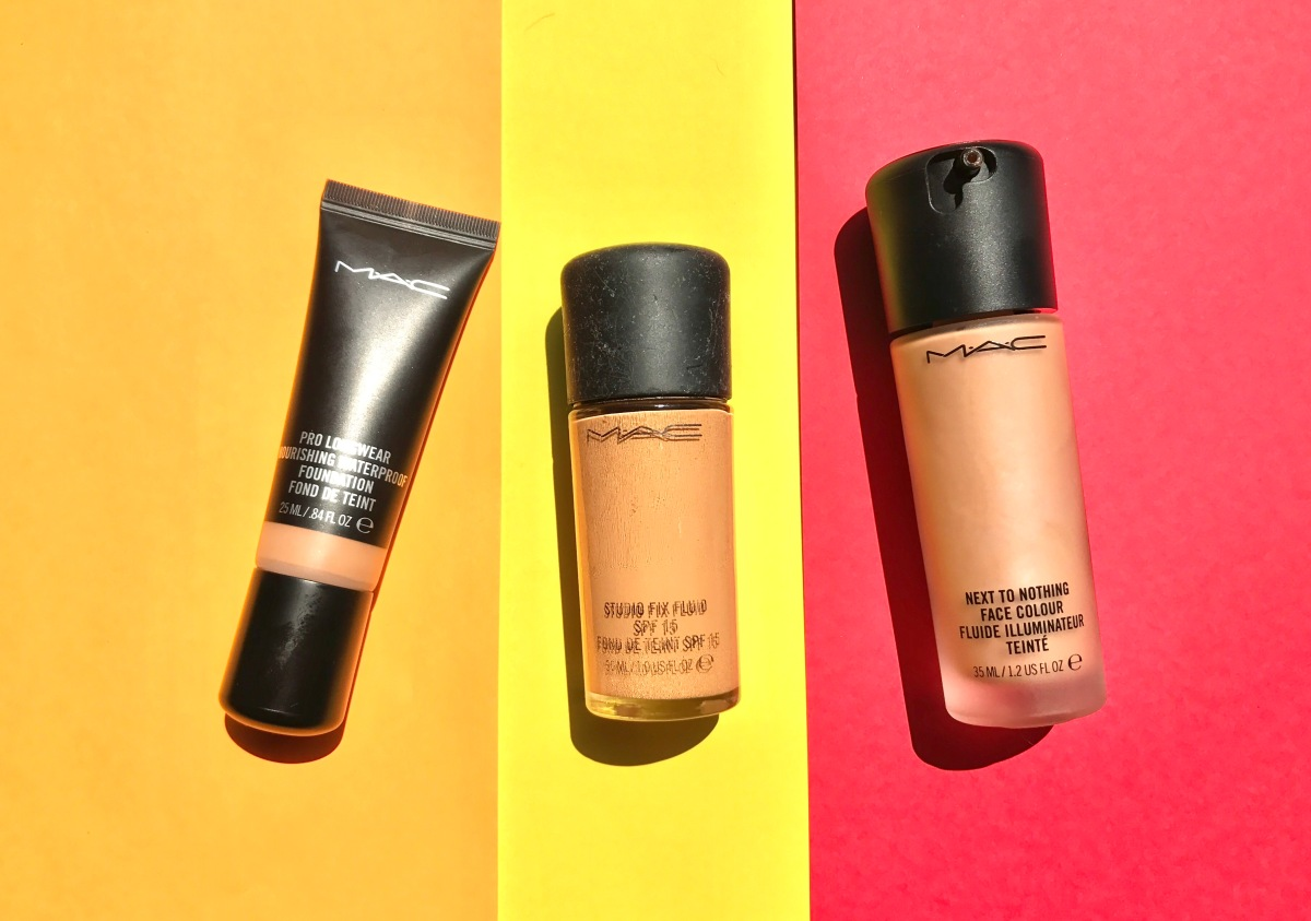 MAC Foundations: Studio Fix Fluid