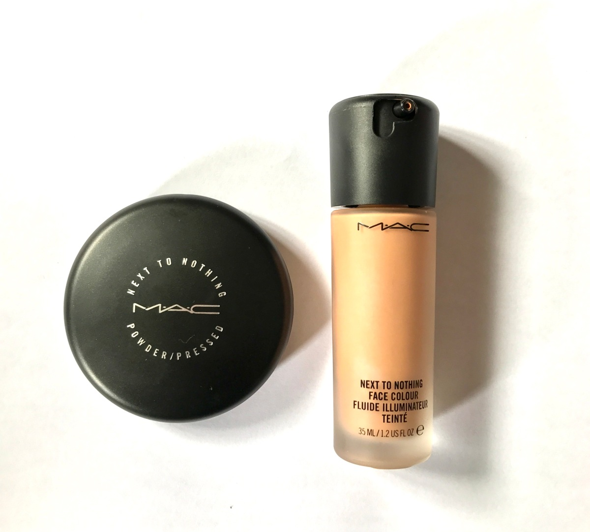 MAC Next To Nothing: Pressed Powder and Face Colour for Radiant Skin